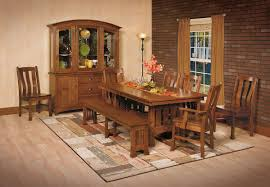Dining Chairs Hutches Tables Portland Oak FurnitureOak - Amish oak dining room furniture
