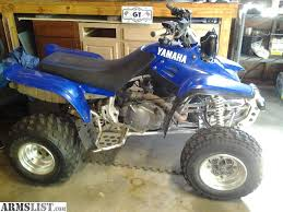 yamaha warrior 350 for sale. 350cc, reverse, great tires on front and back. runs needs nothing. dontnhave the time to ride it want room back in my garage. yamaha warrior 350 for sale