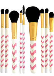 alr beauty 9pcs makeup brush set