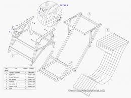folding wood beach chair plans home design ideas intended for beach chair plans