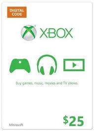 Microsoft Gift Card - $25   Xbox One/Xbox 360   CDKeys