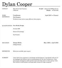 Free Resume Template Online | Sample Resume And Free Resume Templates