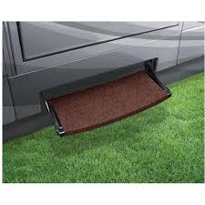 image outrigger radius xt step rug brown to enlarge the image or