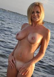 Sexy Naked Blonde Milf