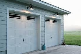 garage door lightsGooseneck Barn Lights Offer Superior Downlighting for Garages