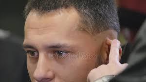 Stříhání Vlasů Muži Holičství Pánská Kadeřnictví Barbers Barber řeže Do Klientského Počítače Pro účesy