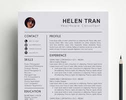 Modern Resume Style Esty Creative Professional Resume Templates 12 Guatemalago