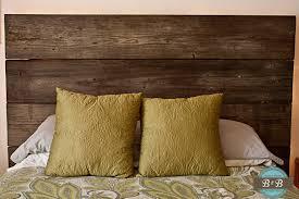 Diy Wood Headboard Diy Reclaimed Wood Headboard Wb Designs