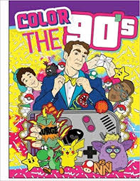 coloring books color the 90 s the ultimate 90 s coloring book for s best sellers paperback may 24 2018