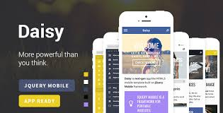 Make A Jquery Mobile App With Mobile App Templates