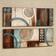 contemporary modern and abstract canvas wall art  touch of class