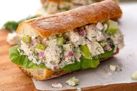 chicken salad. Brilliant Salad Best Chicken Salad Sandwich Recipe  How To Make A Homemade  Inside C