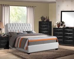 White And Walnut Bedroom Furniture Bedroom Furniture Sets