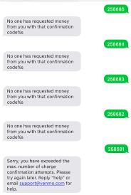 wrong codes sms