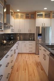White Kitchen Laminate Flooring Kitchen Installing Laminate Flooring With Pretty Tranquil Warm