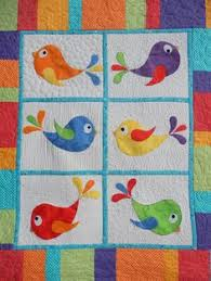Animal applique quilt - Animal Whimsy Quilt Pattern by Amy Bradley ... & Bright baby or toddler bird applique and patchwork cot quilt Adamdwight.com