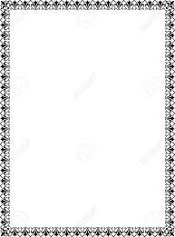 Dtp Border Designs Black And White Border Clipartion Com