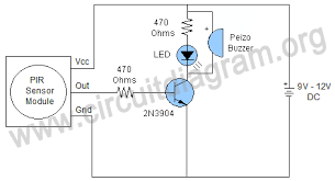 infrared motion sensor circuit diagram images infrared sensor pin motion detector circuit diagram