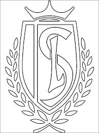 Standard Luik Logo Kleurplaat Gratis Kleurplaten