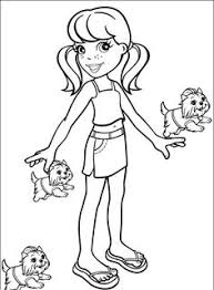 Small Picture Polly Pocket Coloring Pages To Print Polly Pocket Coloring Pages