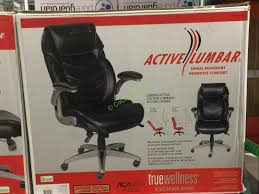 costco 733288 true innovations active lumbar chair box