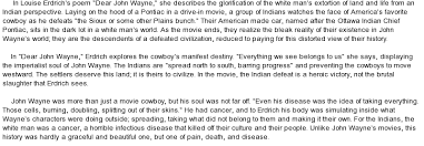 dear john wayne manifest destiny and america s cowboy at  essay on dear john wayne manifest destiny and america s cowboy