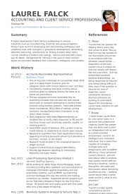 Representative Resume Samples Visualcv Resume Samples Database