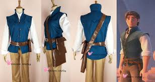 details about new enchanted tangled rapunzel prince flynn rider cosplay costume