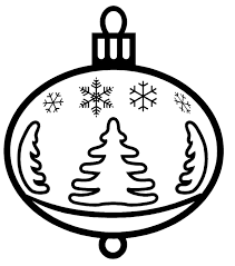 Small Picture Christmas Ornaments Coloring Pages Christmas Ornament Coloring