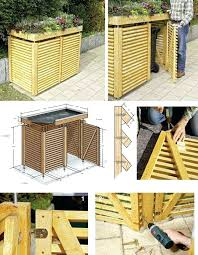 Image Illbedead Trash Can Corral Best Garbage Can Storage Ideas On Outdoor Trash Golden Corral Trashy Teambuzzinfo Trash Can Corral Outdoor Wooden Garbage Can Storage Bin Provide