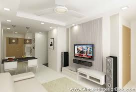 Hdb Tv Console Living Room Design Home Decorating Ideas Flat - Living room renovation