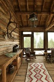 Moose Creek Lodge-Miller Architects - I really like this rug.