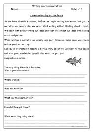 a memorable day at the beach worksheet esl printable  a memorable day at the beach worksheet esl printable worksheets made by teachers