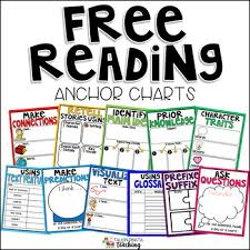 What Is Anchor Chart Free Reading Anchor Charts