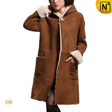 womens hooded leather trench coat cwmalls com