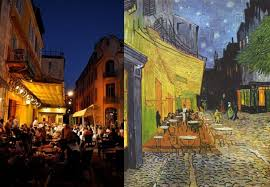 his iconic painting cafe terrace at night depicts a group of anonymous patrons enjoying an evening in arles france so why is it special