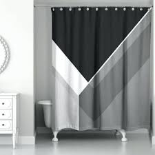 grey and black shower curtains from bed bath beyond intended for gray designs 1 curtain
