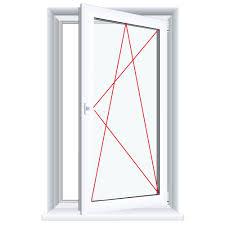 Kunststofffenster Eiche Dunkel Innen Und Außen Dreh Kipp Fenster 1