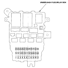 2003 honda accord lx cigarette lighter fuse box diagram is missing graphic