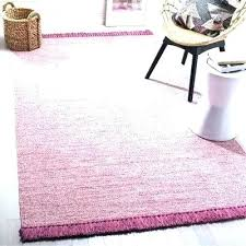 pink cream gray tufted area rug project and hand woven grey
