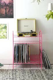 vinyl record storage rack record player shelf chic vinyl record storage rack record player stand