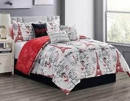 reversible comforter set king bed gray