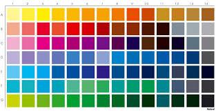 Cmyk Color Code Chart Pdf Bedowntowndaytona Com