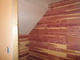 how to install aromatic cedar in a closet