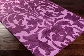 lavender rug damask