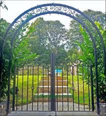 Small Picture Metal Garden Archway satuskaco