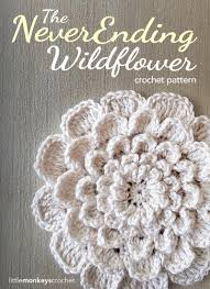 Free Crochet Flower Patterns Impressive Crochet Flower Applique AllFreeCrochet