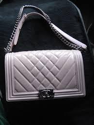 Chanel Pink Patent Leather Medium Chevron Quilted Boy Bag For Sale ... & Chanel Pink Patent Leather Medium Chevron Quilted Boy Bag 2 Adamdwight.com