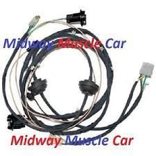 rear body panel tail light wiring harness 64 65 66 67 chevy el 1984 el camino wiring harness at 1983 El Camino Wiring Harness