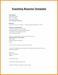 Teaching Resume 100 Format Of Resume For Teacher Actor Resumed 25